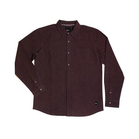 Marsh L/S Flannel // Wine (S)