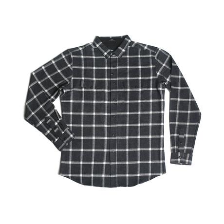 Morton L/S Flannel // Coal (S)