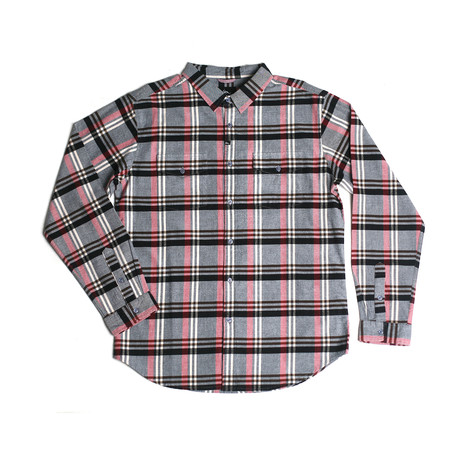 Wintrop Flannel // Black + Red (S)