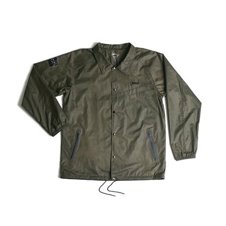 Volume Coaches Jacket // Olive (S)