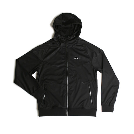 Realm Bonded Fleece Jacket // Black (S)
