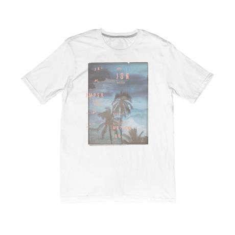 Palms Away Tee // White (S)