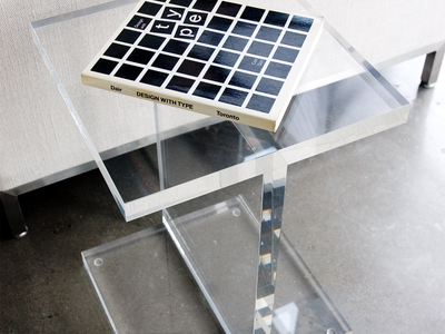 Photo of Gus* Modern Mid Century-Inspired Modern Furniture Acrylic I-Beam Table by Touch Of Modern