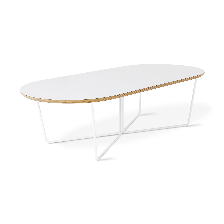 Array Oval Coffee Table (Black Powder Coat)