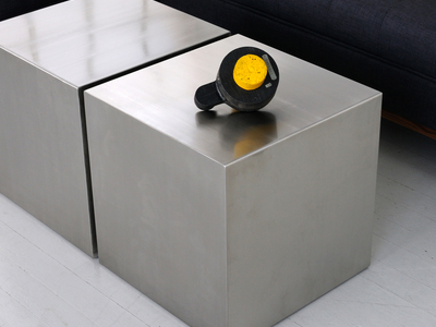 Photo of Gus* Modern Mid Century-Inspired Modern Furniture Stainless Cube by Touch Of Modern