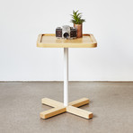 Axis End Table (Walnut)