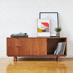 Belmont Media Stand (Walnut)
