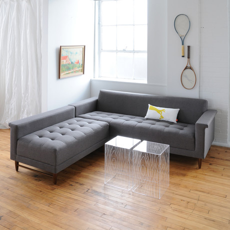 Harbord Loft Bi-sectional (Parliament Stone)