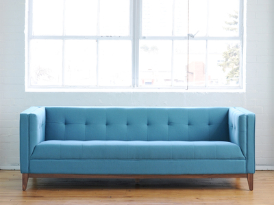 Photo of Gus* Modern Mid Century-Inspired Modern Furniture Atwood Sofa (Leaside Driftwood) by Touch Of Modern