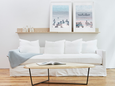 INOpets.com Anything for Pets Parents & Their Pets Gus* Modern Mid Century-Inspired Modern Furniture Carmel Sofa