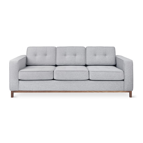 Jane Sofa // Wood Base (Urban Tweed Ink)
