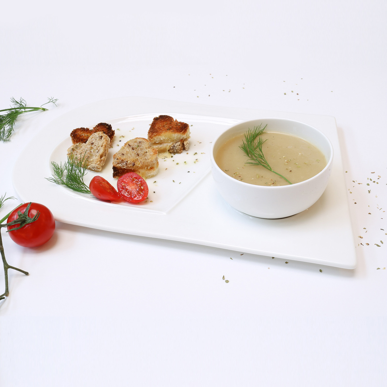 ... Soup And Sandwich Plate Mug. Fancy Plates For Half The Three Dog Kitchen & Soup And Sandwich Plate Sets - Best Plate 2018