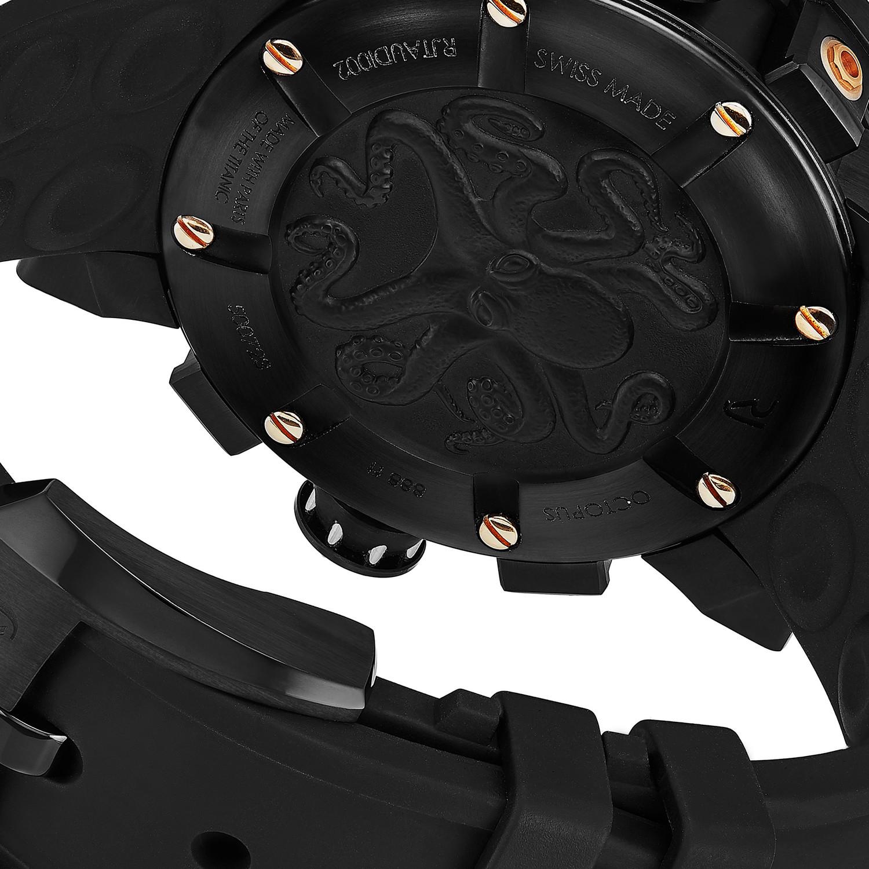 Romain Jerome Black OCTOPUS Automatic // RJ.T.AU.DI.002.01 ...