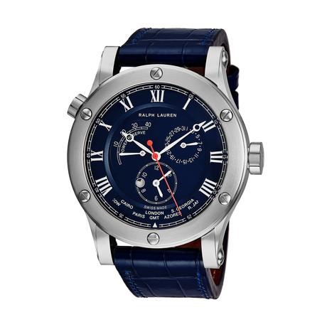 Ralph Lauren Sporting World Time Automatic // RLR0210700 // New