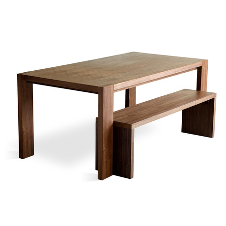 Plank Walnut Dining (Bench Only)