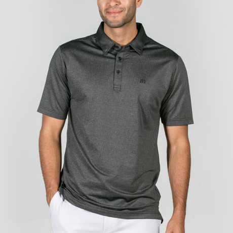 Garber Polo // Heather Black (S)