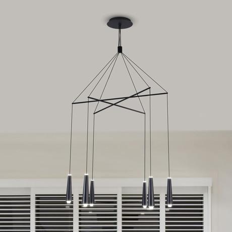 EXPRESSION Series // Adjustable LED Chandelier // Drops