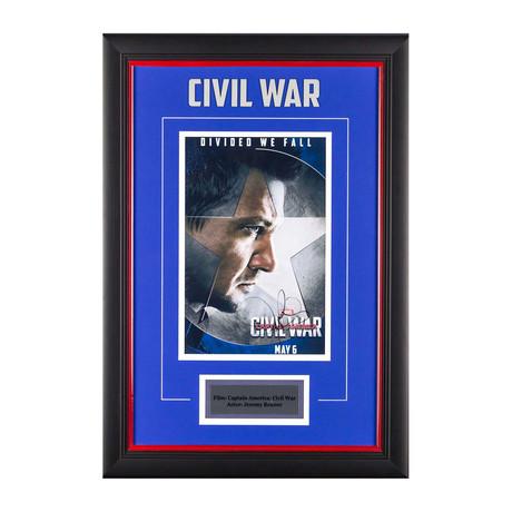 Signed Artist Series // Civil War // Hawkeye
