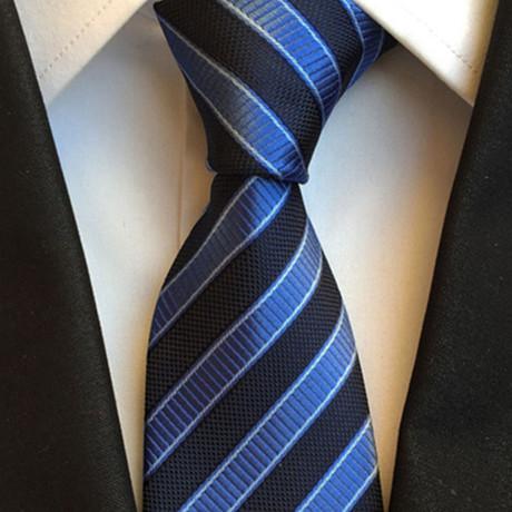 Enfield Tie // Blue + Black