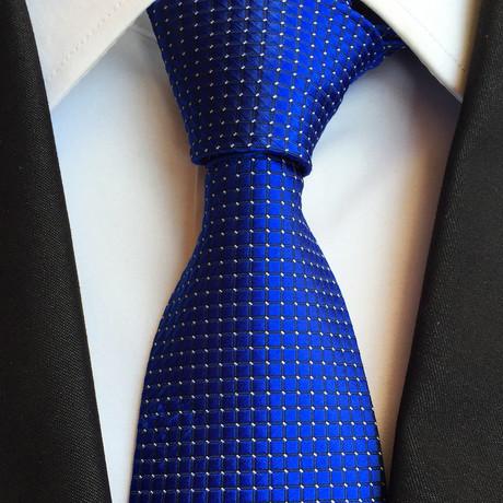 Barton Silk Tie // Blue