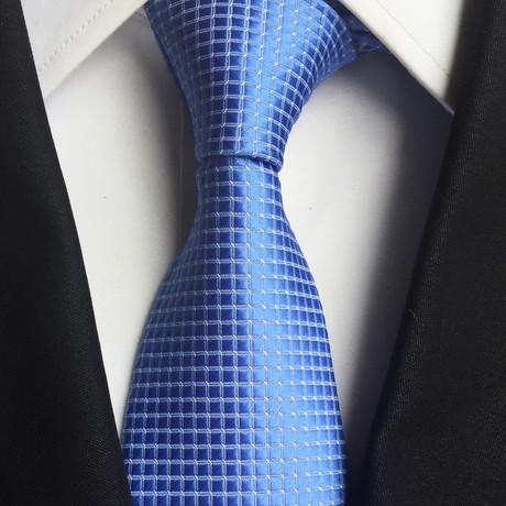 Westover Silk Tie // Blue