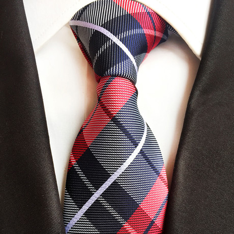William Tie // Black + Red