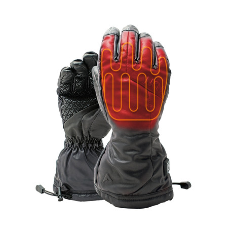 Snow Pro Heated Gloves // Black (Small)