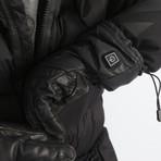 Snow Pro Heated Gloves // Black (Small)