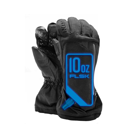 Flask Gloves FLSK // Black (Small)