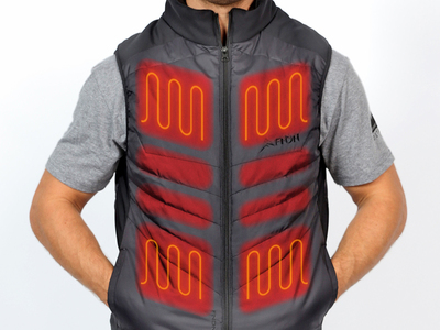 Photo of FNDN Detroit Heated Outerwear  Heated Vest // Black (Small) by Touch Of Modern