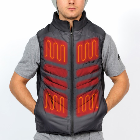 Heated Vest // Black (X-Large)