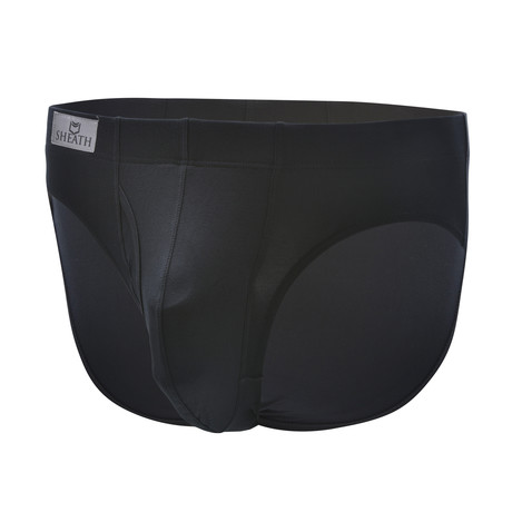 Sheath Brief // Black (Small)