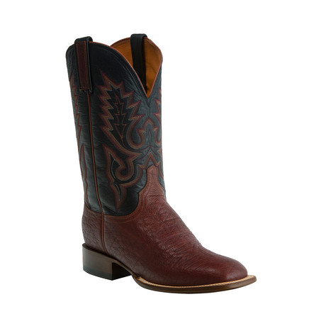 Brahman Horseman Style Western Boot // Cognac (US: 8)