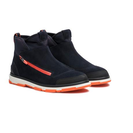 Storm Gaiter // Navy + Black + Orange (US: 7)
