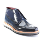 Ackston Derby // Dark Blue Split (Euro: 42)