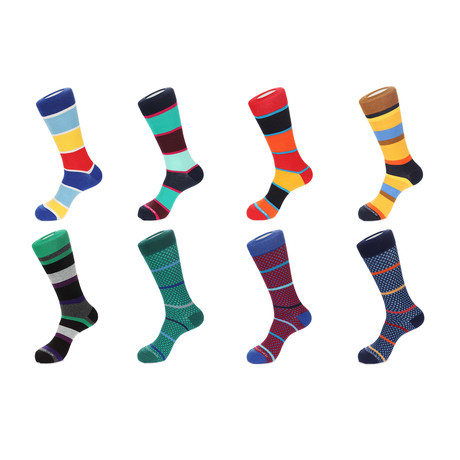 Dress Socks // Steller // 8 Pack