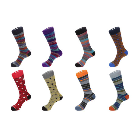 Dress Socks // Cozy Boys // Pack Of 8