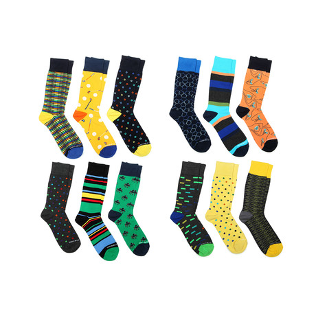 Dress Socks // Sunshine State // Pack Of 12