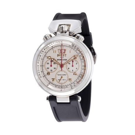 Bovet Sportster Saguaro Big Date Chronograph Automatic // SP0415-MA // Unworn