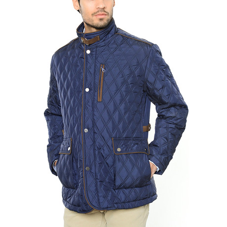 Walter Coat // Dark Blue (XL)