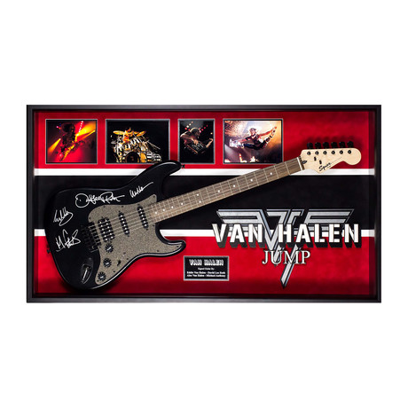 Signed + Framed Guitar // Van Halen