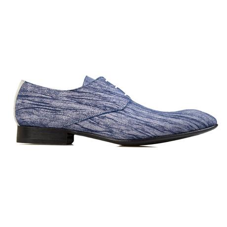 Blue Burst Dress Shoes // Blue, Grey (Euro: 39)