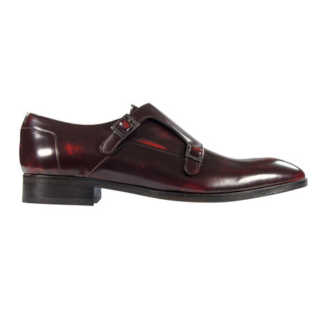 Strapping Nadir Dress Shoes // Black, Red (Euro: 39)