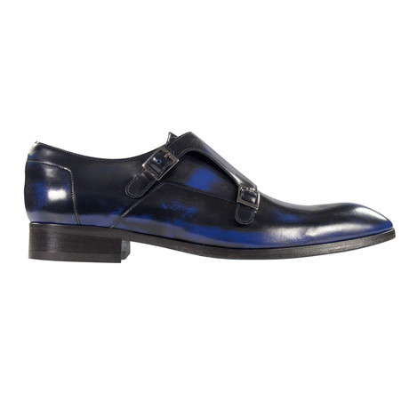 Strapping Zenith Dress Shoes // Black, Blue (Euro: 39)