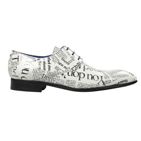 The Writer Dress Shoes // Black, White (Euro: 39)
