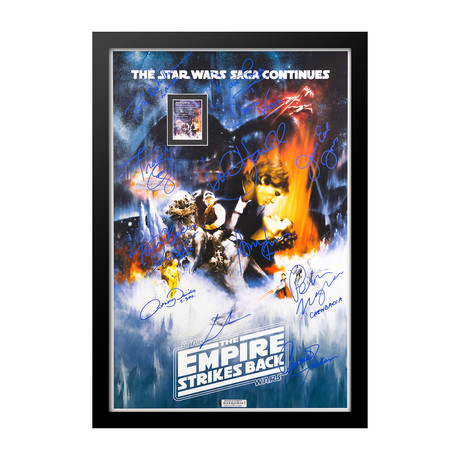 Signed Movie Poster // The Empire Strikes Back