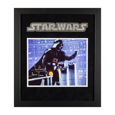 Signed + Framed Artist Series // Darth Vader