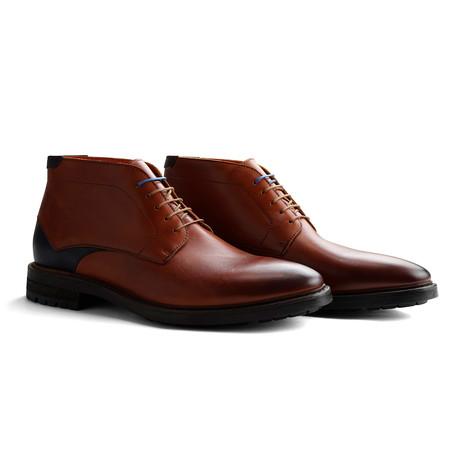 Cardigan Shoe // Cognac