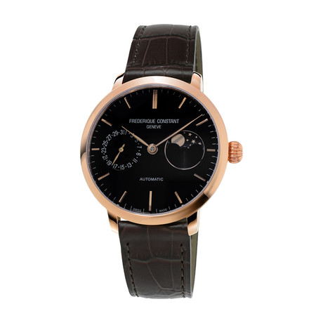 Frederique Constant Slimline Moonphase Automatic // FC-702G3S4