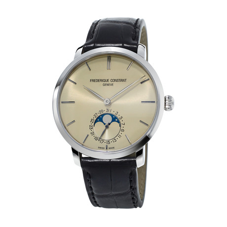 Frederique Constant Slimline Moonphase Automatic // FC-705BG4S6
